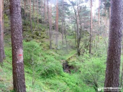 Peña Quemada-Ladera de Santuil; galayos ruta desfiladero de las xanas rio guadiela parque de cabañer